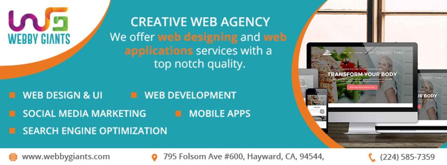 A great web design by Webby Giants, Hayward, CA: