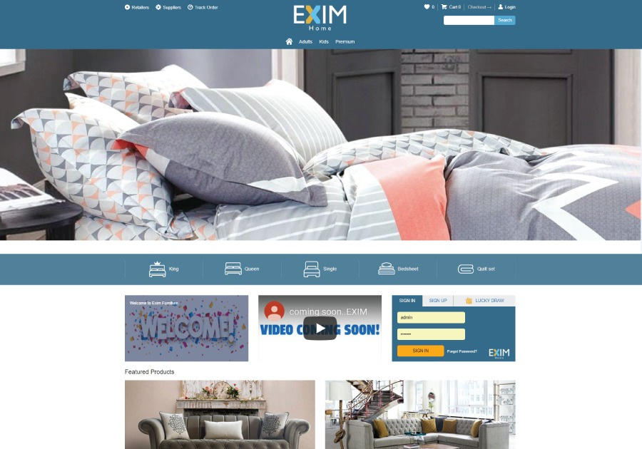 A great web design by TekTurkey , Istanbul, Turkey: Website, E-Commerce , Retail