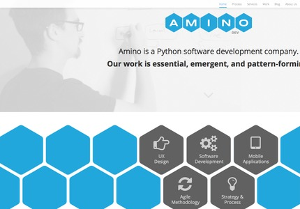A great web design by Fusionbox: Responsive Website, Portfolio , Technology , Python
