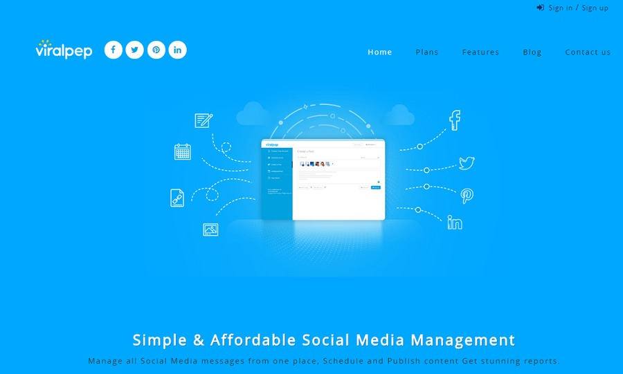 A great web design by Viralpep, Mississauga, Canada:
