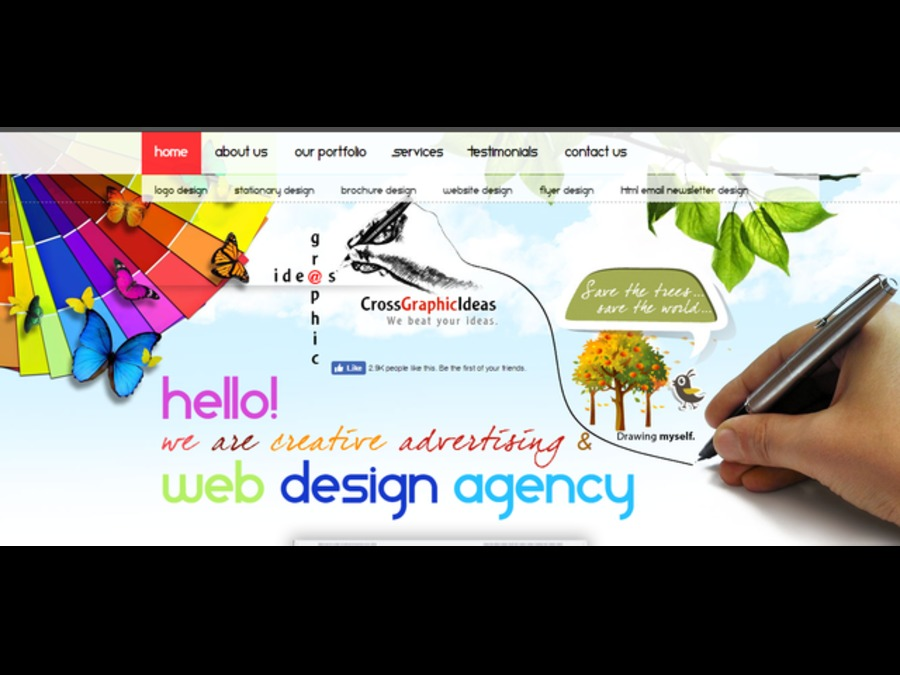 A great web design by Cross Graphic Ideas-Web Design Company in Jaipur, Jaipur City, India: