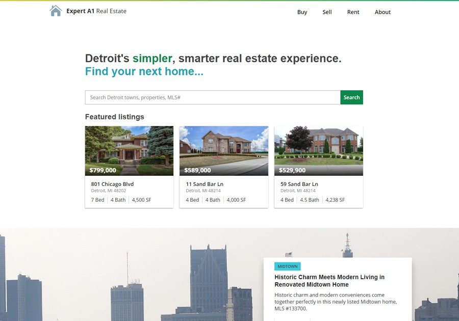 A great web design by Williamson Design L.L.C., Lansing, MI: