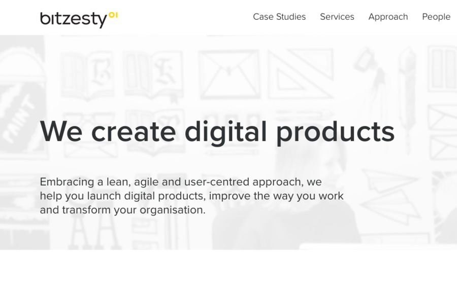 A great web design by Bit Zesty, London, United Kingdom: Ruby on Rails