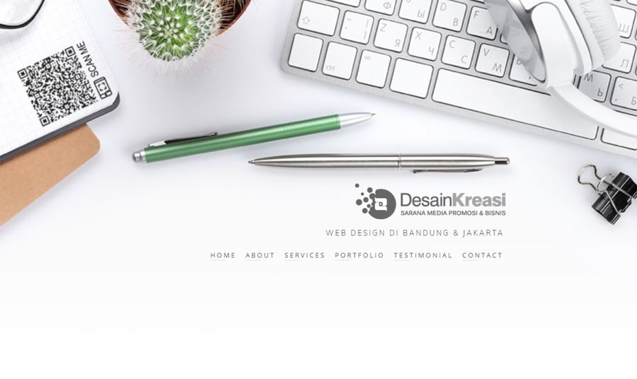 A great web design by Desain Kreasi, Bandung, Indonesia: Responsive Website, Marketing Website , Service , Wordpress