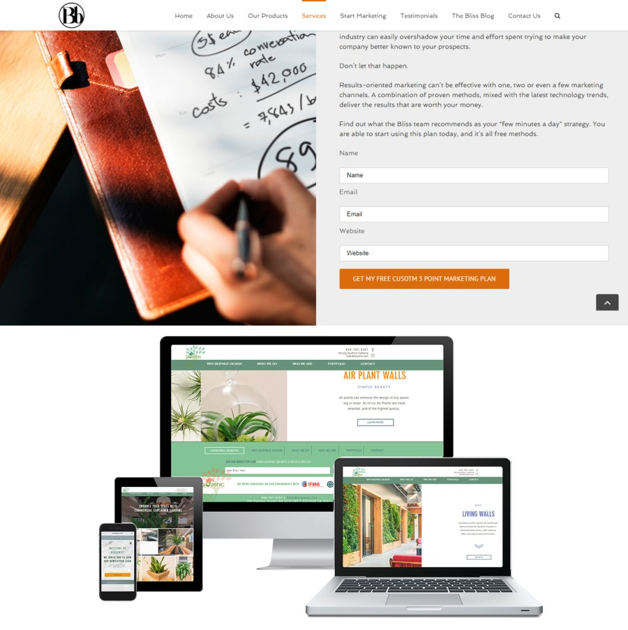 A great web design by Blissbranding, Allentown, PA: Website, Marketing Website , Marketing , Other