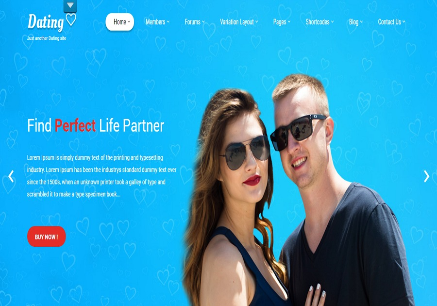 A great web design by WPThemes India, Pune, India: