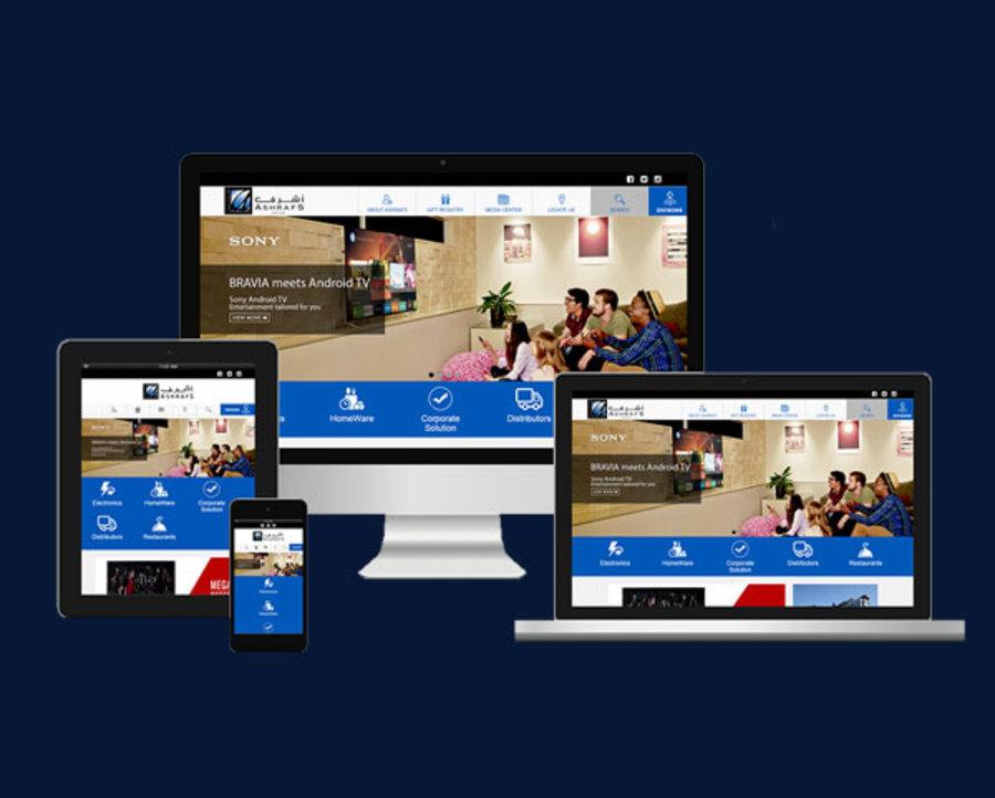 A great web design by AK Information Technology (AKIT), Manama, Bahrain:
