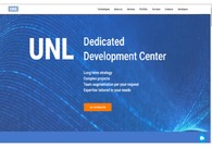 A great web design by UNL Solutions LTD, Loughborough, United Kingdom: