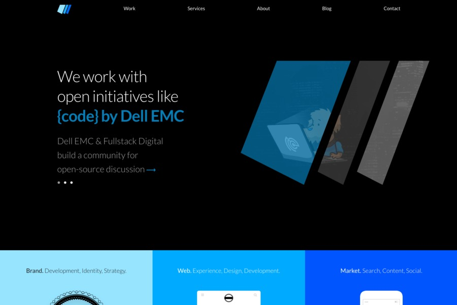 A great web design by Fullstack Digital, Redmond, WA: