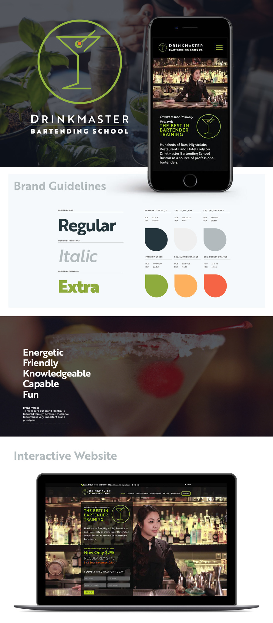 A great web design by ElephantMark LLC, Sarasota, FL: Responsive Website, E-Commerce , Education , Wordpress
