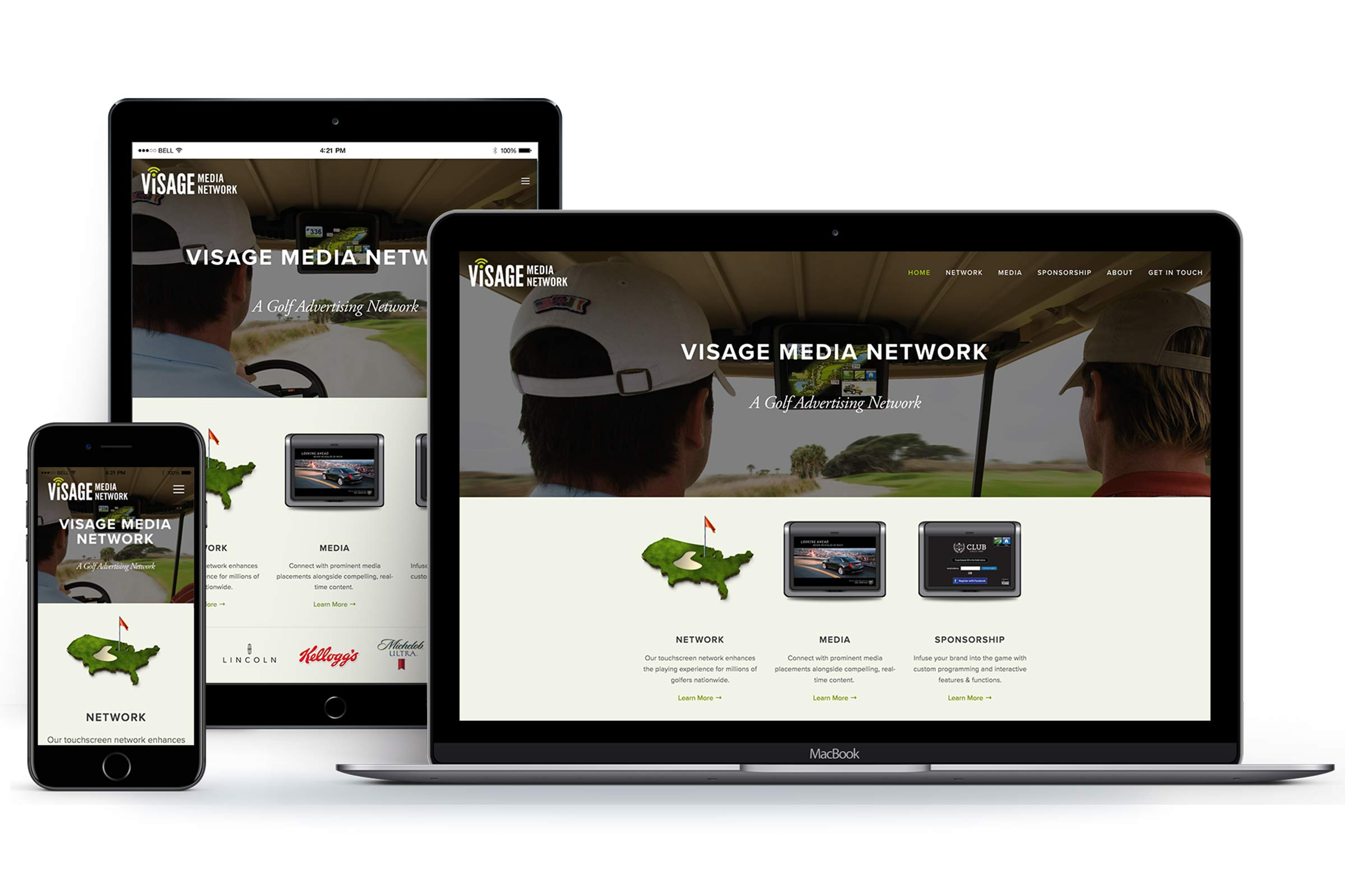 A great web design by ElephantMark LLC, Sarasota, FL: Responsive Website, Marketing Website , Sports & Fitness , Other