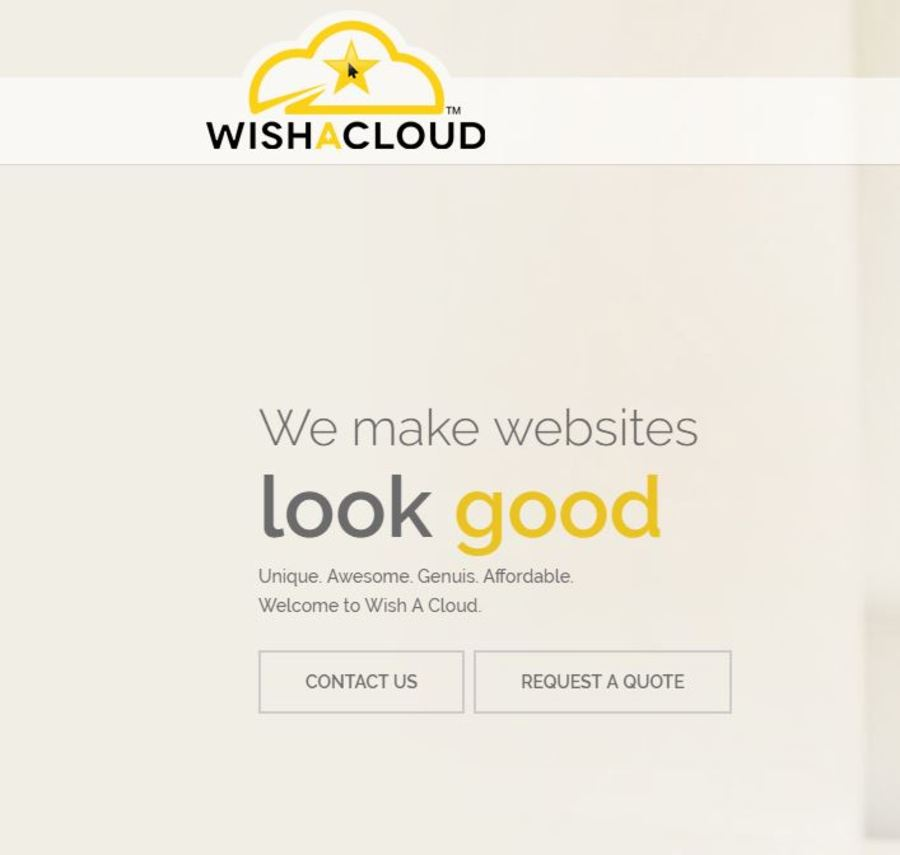 A great web design by Wish A Cloud, Ghaziabad, India:
