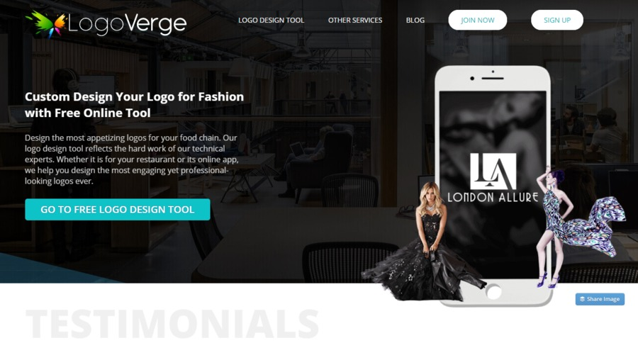A great web design by Logo Verge, Los Angeles, CA: