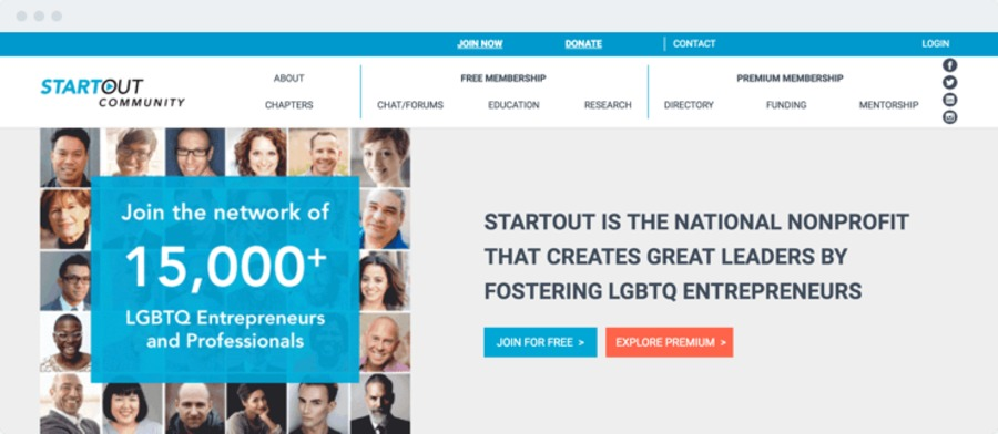 A great web design by Alternative Spaces, Sausalito, CA: