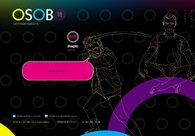 A great web design by OSOBO Communications, Yekaterinburg, Russia: