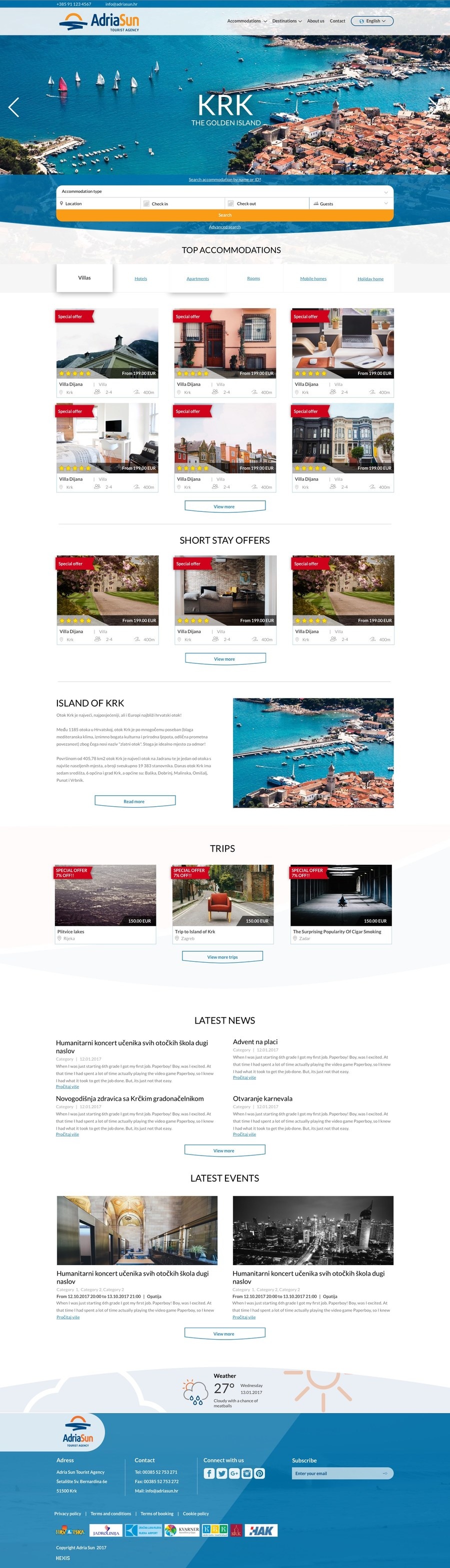 A great web design by Hexis, Rijeka, Croatia: Responsive Website, E-Commerce , Travel , PHP