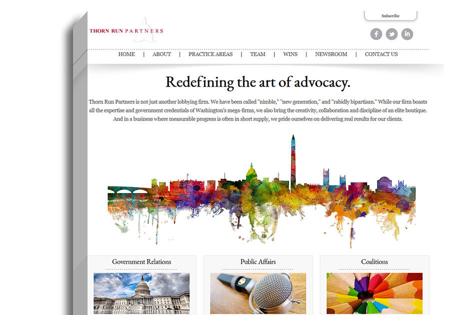 A great web design by 80Port, Washington, DC: