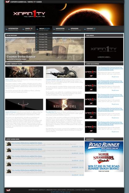 A great web design by Kal Kaden, Gothenburg, Sweden: