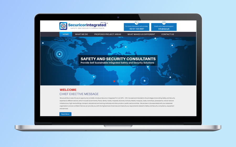 A great web design by 1stFold WebSolutions, Islamabad, Pakistan: Responsive Website, Marketing Website , Security , Wordpress