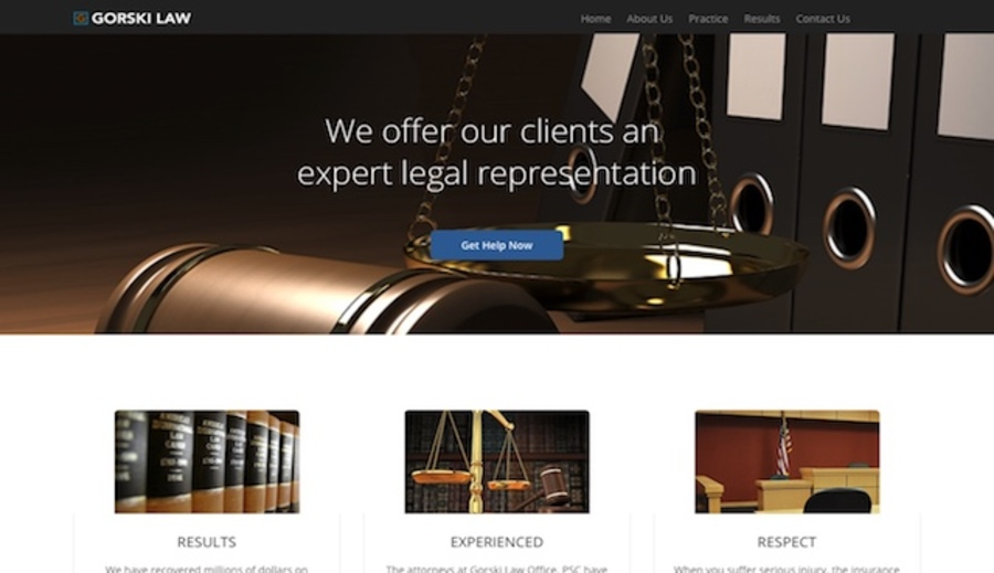 A great web design by Pixel Guild.com, Louisville, KY: