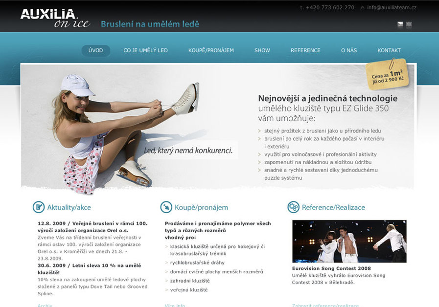 A great web design by GingerCandy, Hradec Kralove, Czech Republic: