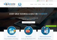 A great web design by World Web Technology Pvt. Ltd., Ahmedabad, India: