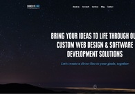 A great web design by Direct Line Development Inc, Westminster, CO: