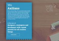 A great web design by Axilsolutions, Ahmedabad, India: