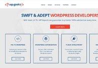A great web design by HireWPGeeks Ltd., San Francisco, CA: