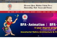 A great web design by Creative Multimedia college, Hyderabad, India: