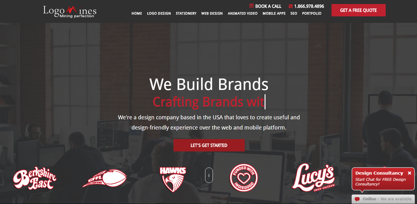 A great web design by Logomines Logo Design, Teaneck, NJ:
