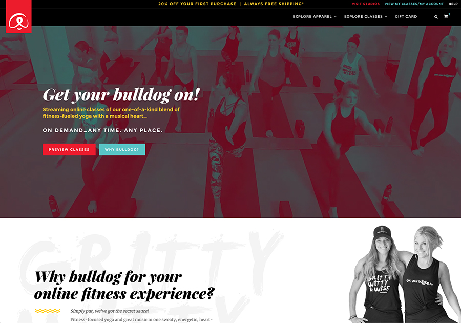 A great web design by Web Effectual, Asheville, NC: Responsive Website, E-Commerce , Sports & Fitness , Wordpress