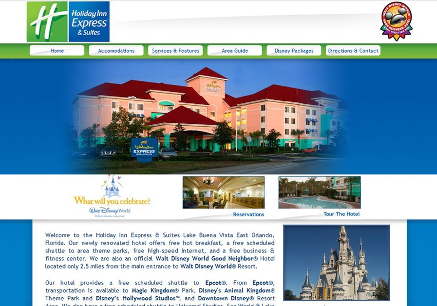 A great web design by Integrated Webworks, Jacksonville, FL: