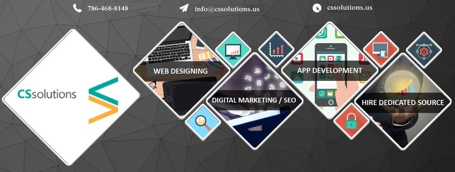 A great web design by CS Solutions, Miami, FL: