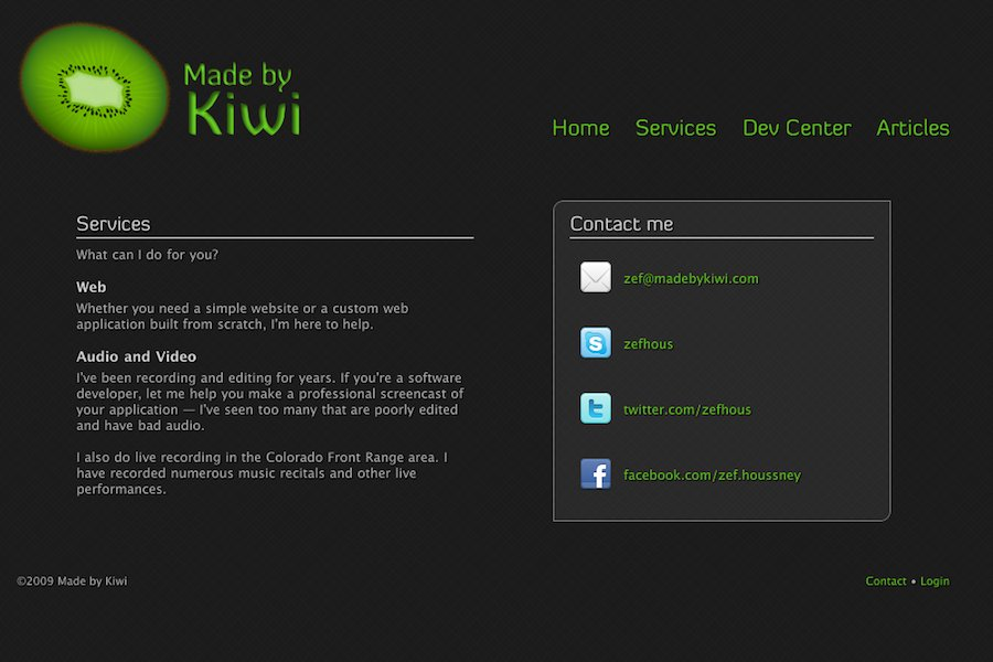 A great web design by Made by Kiwi, Boulder, CO: