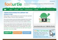 A great web design by fasturtle, Phoenix, AZ: