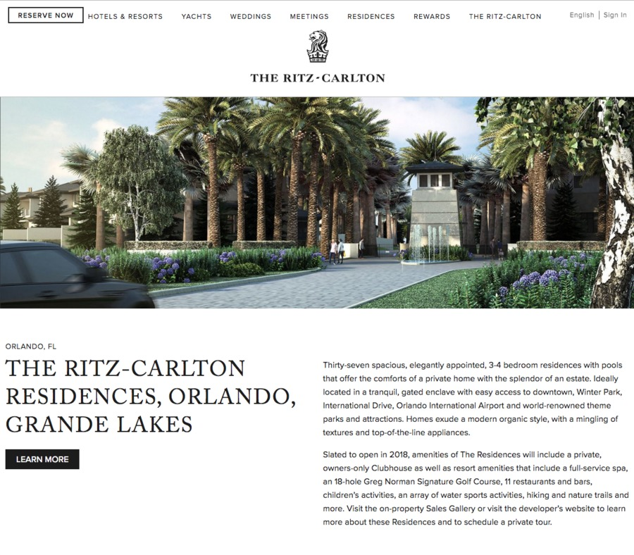 A great web design by BIGEYE, Orlando, FL: