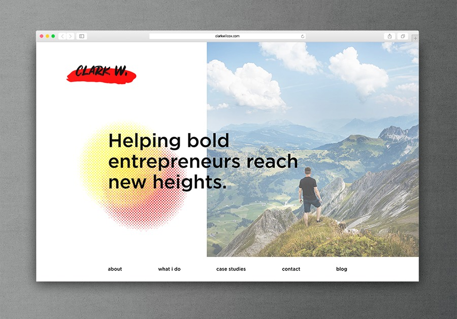 A great web design by Jon Persson, Gothenburg, Sweden: