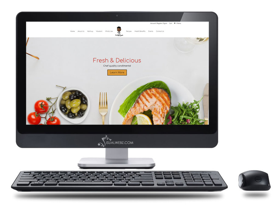 A great web design by Visualwebz llc, Seattle, WA: Website, E-Commerce , Food & Beverage , Wordpress