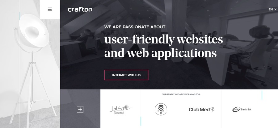 A great web design by Crafton, Poznan, Poland: