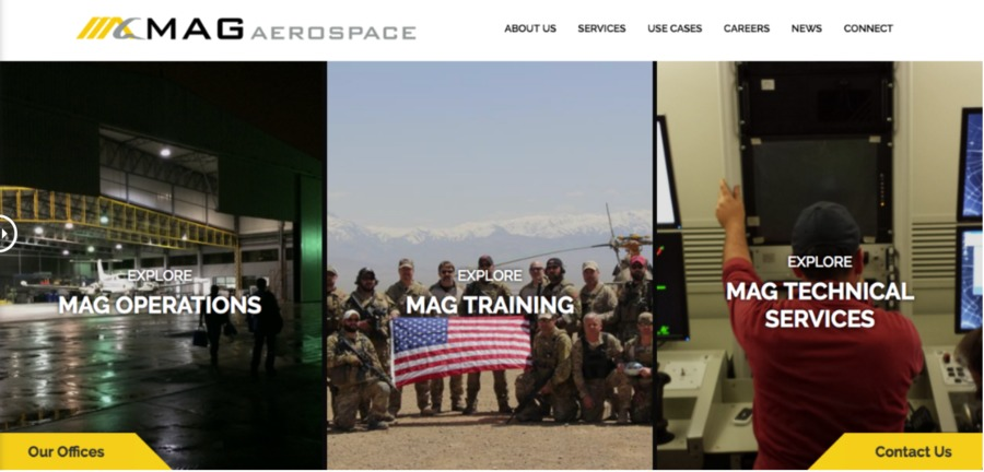 A great web design by Ironistic.com, Washington, DC: Website, Marketing Website , Aerospace