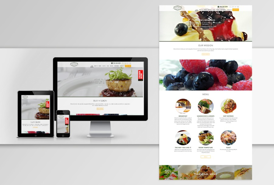 A great web design by Red Turtle, Ahmedabad, India: Responsive Website, Other, Food & Beverage , Magento