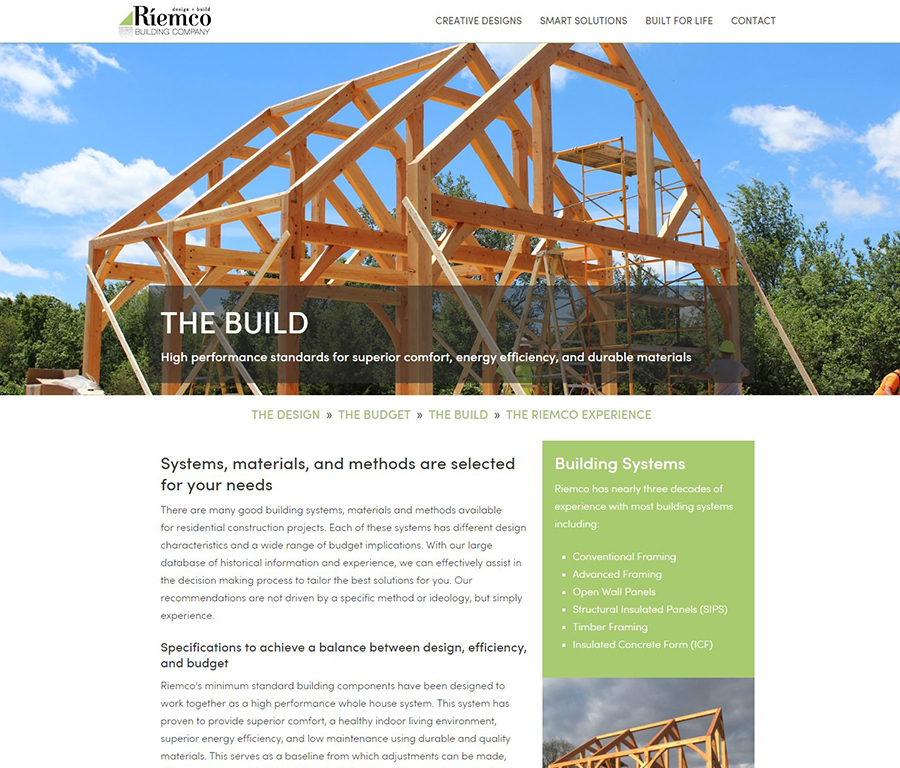 A great web design by Surelutions, Ann Arbor, MI: