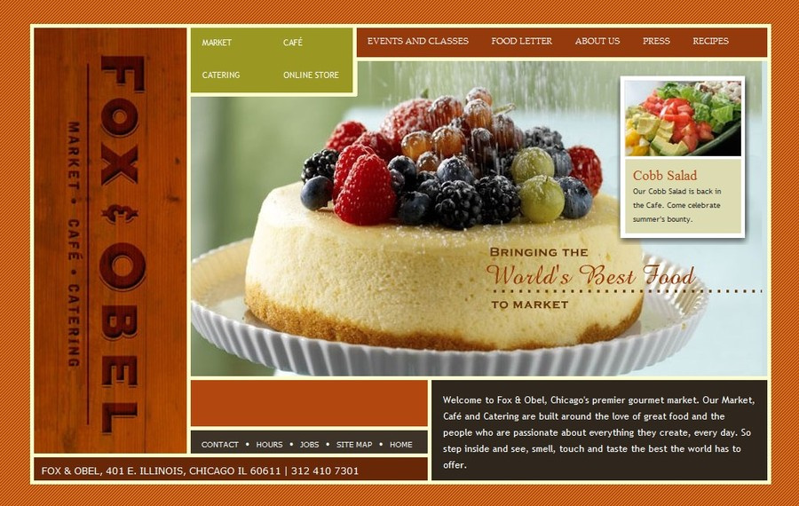 A great web design by Online Innovative Creations - OIC Group, Inc., Chicago, IL: