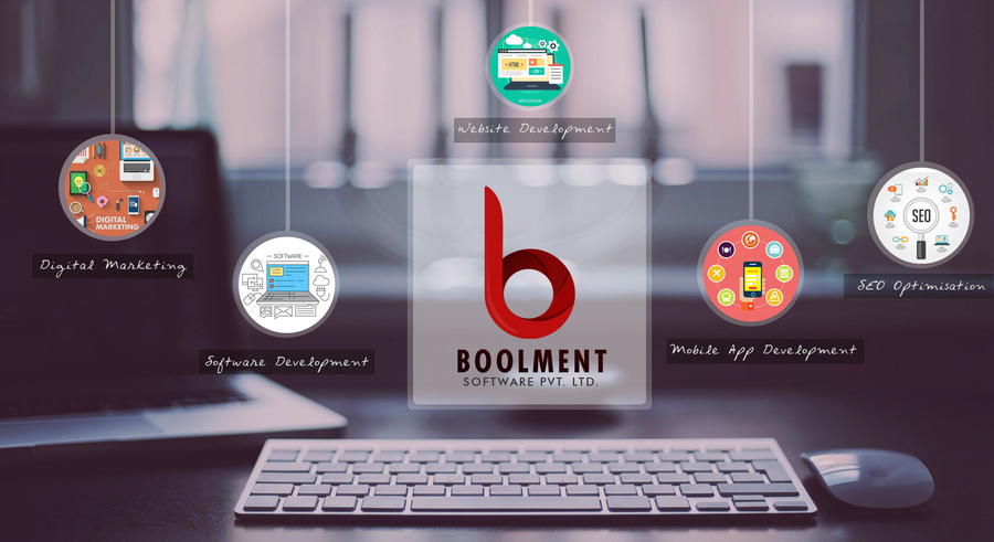 A great web design by Boolment Software Development Pvt Ltd., Noida, India: