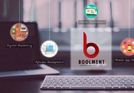A great web design by Boolment Software Development Pvt Ltd., Noida, India: