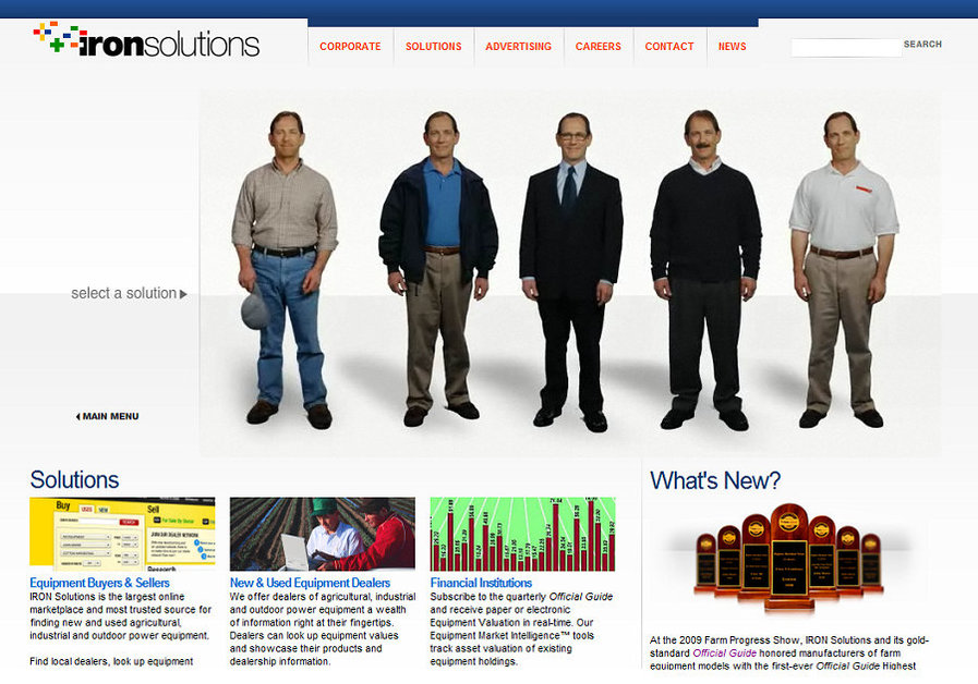 A great web design by 3000 LB Gorilla, St Louis, MO: