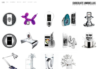 A great web design by Chocolate Umbrellas Graphical House, Berlin, Germany: