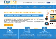 A great web design by Dotline Digital Technologies, Lagos, Nigeria: