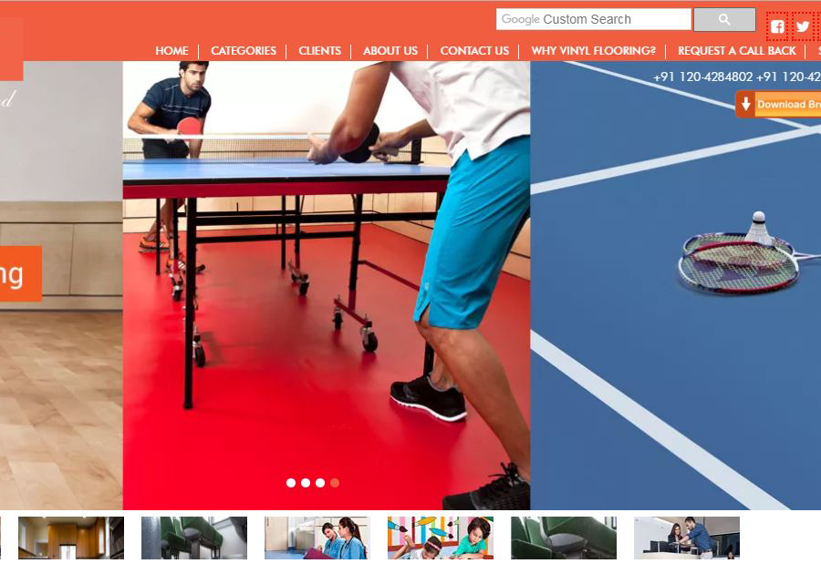 A great web design by Rankdeck SEO, Delhi, India: